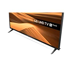 LG 49UM7100PLB 49 Inch UHD 4K HDR Smart LED TV with Freeview Play – Ceramic Black (2019 Model) Amazon exclusive, with…