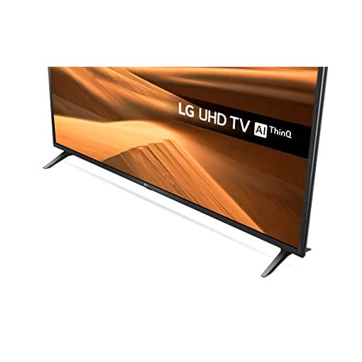 LG 55UM7100PLB 55 Inch UHD 4K HDR Smart LED TV with Freeview Play – Ceramic Black (2019 Model) Amazon exclusive, with Alexa built-in