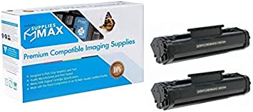 NO. 06A SuppliesMAX Compatible Replacement for HP Laserjet 3100//3150//5L//6L Toner Cartridge 2//PK-2500 Page Yield C3906AD