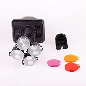 SHOOT XT-4 16W 6300K 720lm 8-LED Video Camera Light - Black