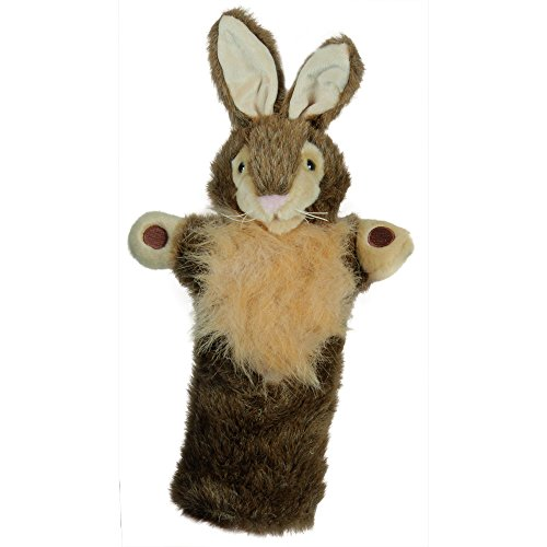 The Puppet Company Long-Sleeves Wild Rabbit Hand Puppet