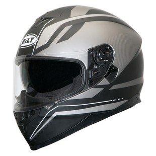 Bilt Force Ten Helmet - XL - Matte Gunmetal (10 Full Face Graphic Helmet)