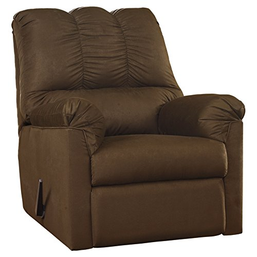 Signature Design by Ashley Darcy Rocker Recliner in Cafe Fabric
