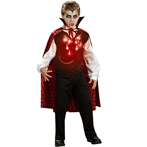 Halloween Vampira Costumes (Rubies Vampire Child Costume, Medium, One)