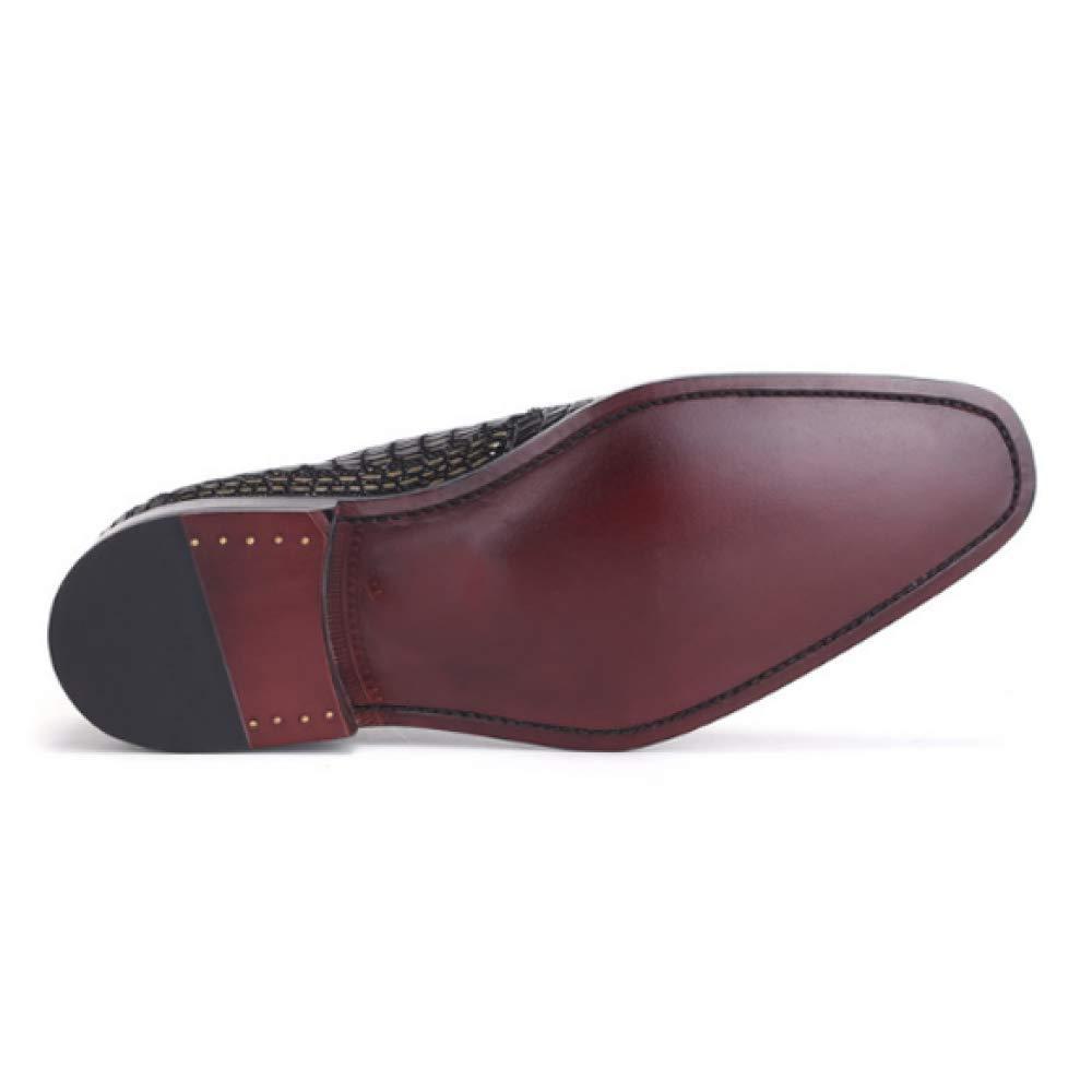 Herrenschuhe Lace Schuhe Lässige Mode Niedrig Top Schuhe Lace Trend Verschleißfeste Breathable schwarzgold 4c66ab