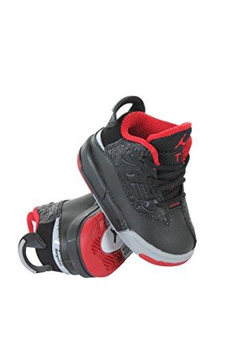 Jordan Dub Zero Black/Gym Red-Wolf Grey-White (Toddler) (5C)