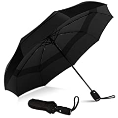 "An umbrella that defies the logic of Mother Nature. 9 resin-reinforced fiberglass ribs. Teflon coated canopy. Dries instantly. Auto Open/Close. Super Portable. Length: 11.5"", Weight 15 ounces. The Repel Travel Umbrella goes to extremes to kee..."