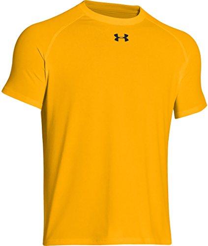 T-shirt Bright Yellow (Under Armour Men's Locker Shortsleeve T-Shirt (Steeltown Gold, Large))