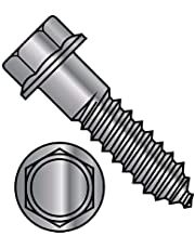 1/4X2 Indented Hex Flange Lag Screw Grade 2 Hot Dip Galvanized (Pack Qty 750) BC-1432LFG by Shorpioen