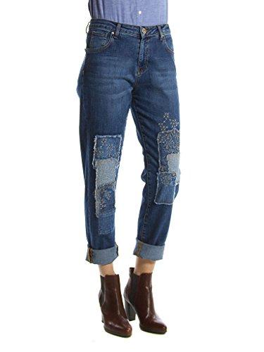 767 Lavage pour en normale Jeans Pierre femme Carrera Moyen Lavage Bleu taille normale taille Jeans mom 753 6AHAwWvZtq