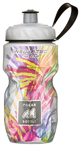 Polar Bottle Kids Insulated Water Bottle, Star Burst, 12-Ounce,Starburst