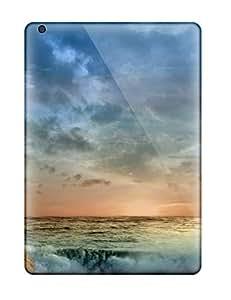 Rolando Sawyer Johnson's Shop 1428690K83954185 Defender Case For Ipad Air, Sunrise Sea Background S Pattern
