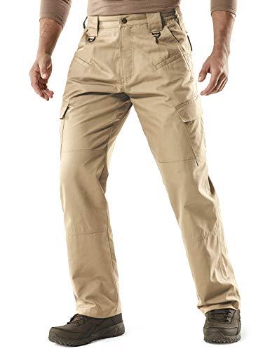 CQR Men's Tactical Pants Lightweight EDC...