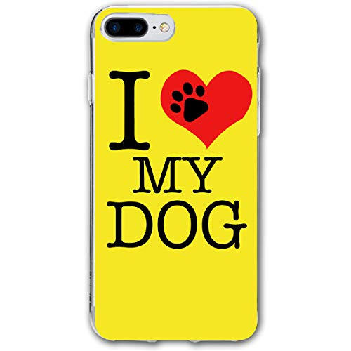- Lookjufjiii80 Silicone Case for iPhone 8 Plus, iPhone 7 Plus Case, I Love My Dogs Foot Soft Shell Shockproof Gel Rubber Bumper Case Full-Body Protective Cover for Apple iPhone 7/8 Plus 5.5''
