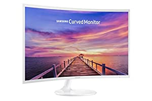 Samsung C32F391 32-Inch Curved Monitor (Ultra- Slim Design)