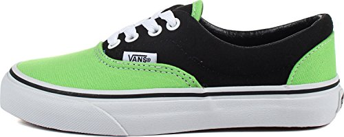 Vans - Zapatos Youth Era K En 2 Tonos Negro / Verde Flash 2 Tonos Negro / Verde Flash