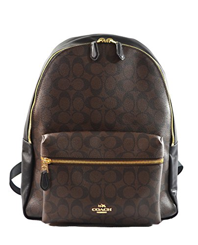 Coach Pebbled Leather Backpack