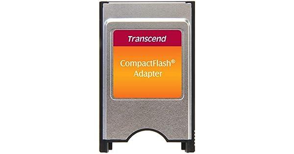 Amazon.com: Transcend PCMCIA ata adaptador para tarjeta CF ...