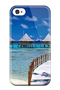 New Fashion Premium Tpu Case Cover For Iphone 4/4s - Scenery