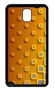 Block Gradient Custom Samsung Galaxy Note 3 N9000 Case Cover ¨C TPU ¨CBlack