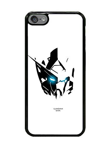 iPod Touch 6 Case - Gundam 7 Black Cell Phone Case Cover for iPod Touch 6
