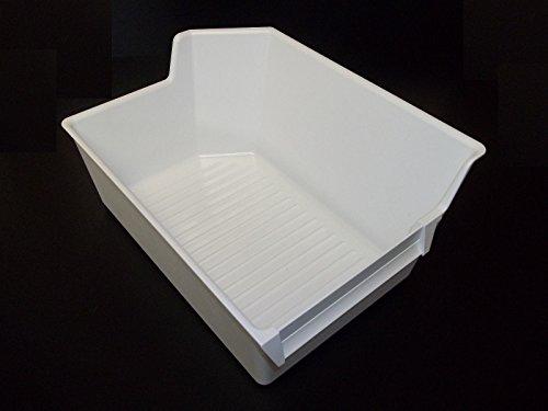 Universal Ice Maker Ice Cube Bucket Bin Tray Holder Storage Sears Kenmore, (Best Whirlpool Ice Cube Makers)