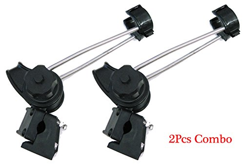 KUFA Pair of Heavy Duty Boat rods holder can mount on both rail and the gunnel