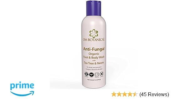Organic Antifungal Tea Tree Oil Soap, Body Wash and Shampoo for Men, Women    All Natural