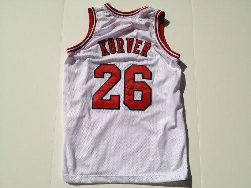 Chicago Bulls KYLE KORVER Signed Autographed NBA
