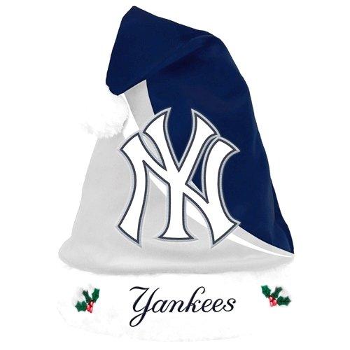 - New York Yankees Swoop Logo Santa Hat