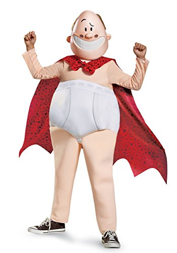 Captain Underpants Deluxe Child Costume -