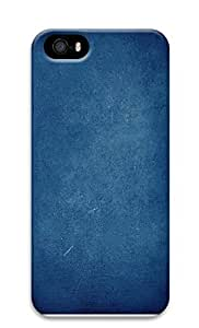 iPhone 5 5S Case Blue Simple 3D Custom iPhone 5 5S Case Cover