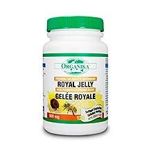 Organika Premium Royal Jelly 500mg 120 Softgel Capsules