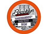 Brooklyn Beans Fuhgeddaboutit Decaf Coffee Single-Cup Coffee for Keurig K-Cup Brewers, 40 Count