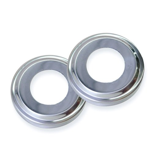 Swimline 87904 Stainless Steel Escutcheons for Pool Handrail(Pack of 2)