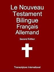 Le Nouveau Testament Bilingue Français Allemand