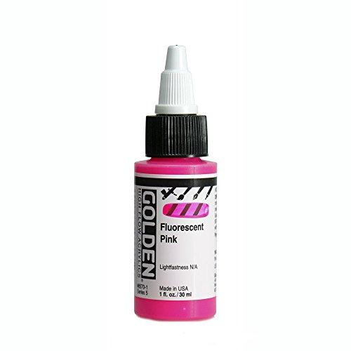 - Golden High Flow 1Oz Fluorescent Pink