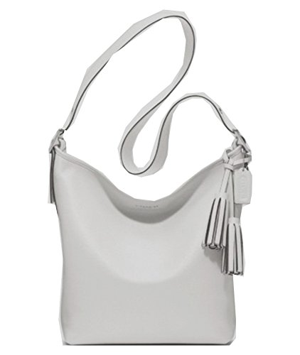 Coach Leather Convertible Crossbody Handbag