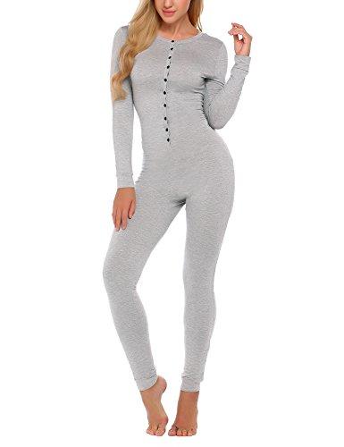 Ekouaer Bandage Pajama Jumpsuit Sleepwear product image