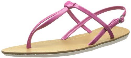 Calvin Klein Jeans Sage Patent Damen Sandalen Pink (Fus)