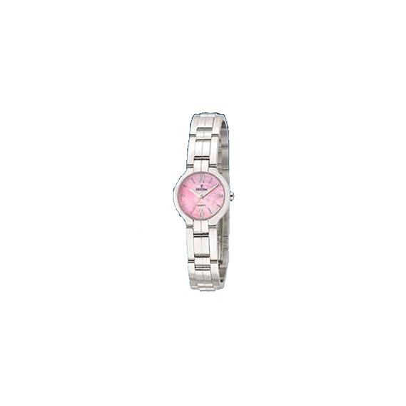 Reloj de pulsera mujer Festina F16205/5 Correa de acero esfera rosa