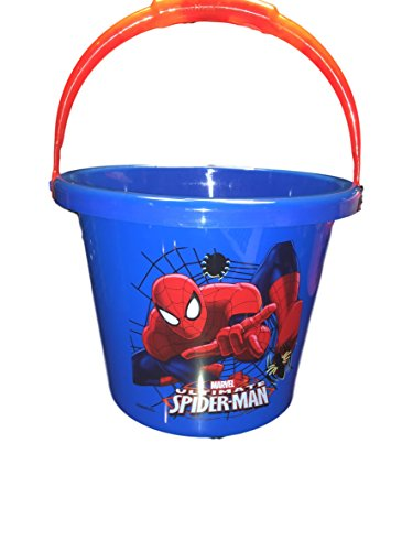 Disney Light Up Handle Halloween Basket Pail (Spiderman)