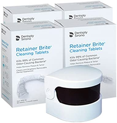 Amazon Retainer Brite Cleaning Tablets 1 Year Supply Sonic