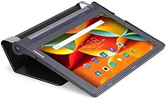 MoKo Lenovo Yoga Tab 3 10 Case - Ultra Slim Lightweight Smart-Shell Cover Case for Lenovo Yoga Tab 3 10 Inch 2015 Tablet, Black