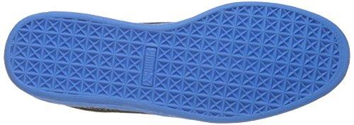 Suede Classic Culture Surf Sneaker di moda, Puma Black-French Blue, 7 M US