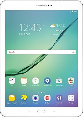 Samsung Galaxy Tab S2 T813 24,6 cm (9,7 Zoll) Wi-Fi Tablet-PC (2 Quad-Core Prozessoren, 1,8 GHz + 1,4GHz,  3GB RAM, 32GB eMMC, Android 6.0, neue Version) weiß