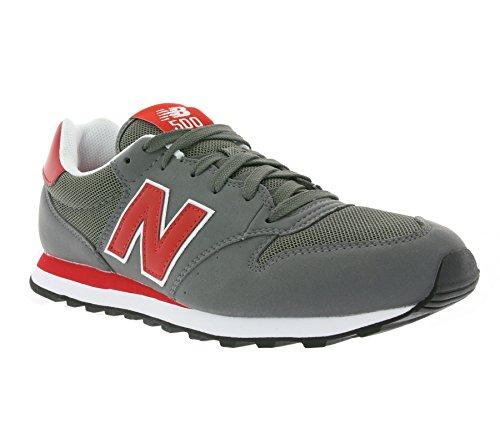 New Balance Gm500 - Zapatillas Hombre Gris / Rojo