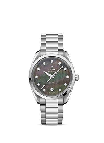 Omega Seamaster Aqua Terra Chronometer - Omega Seamaster Aqua Terra Automatic Chronometer Diamond Ladies Watch 220.10.38.20.57.001