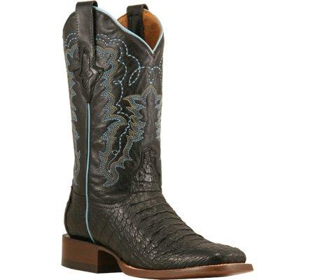 b5c44596991 Amazon.com | Resistol Ranch Women's M3952 Leather Boots, Black ...