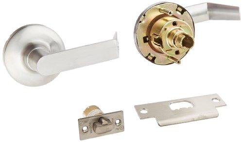 Hager 3400 Series Heavy Gauge Steel/Zinc Grade 1 Cylindrical Classroom Lock, 2-3/4
